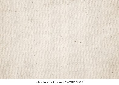 Vintage Cream abstract Hessian or sackcloth fabric or hemp sack texture background. Wallpaper of artistic wale linen canvas. Blanket or Curtain of cotton pattern with copy space for text decoration.