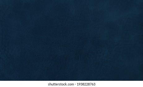 vintage dark blue leather background texture. surface of leatherette use for background. mood and toned for interior material background.
