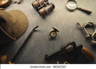 Vintage detective collection