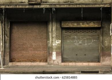 vintage dirt wall