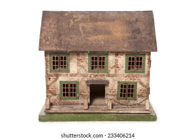 vintage dolls house studio cutout