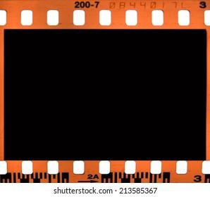 Vintage element Color filmstrip texture