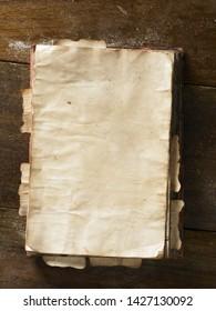 Vintage Empty Drawing Paper Board