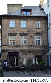 Vintage european cafe