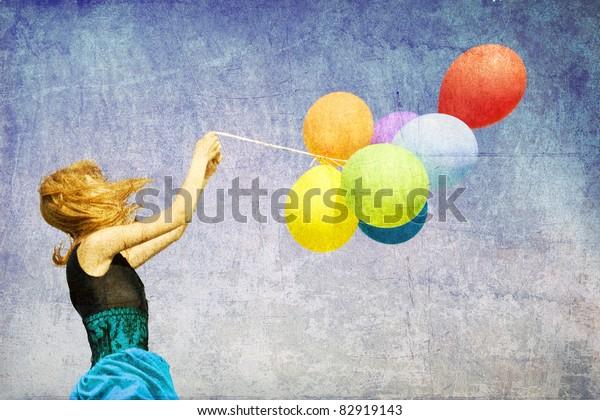Vintage Filter Balloons