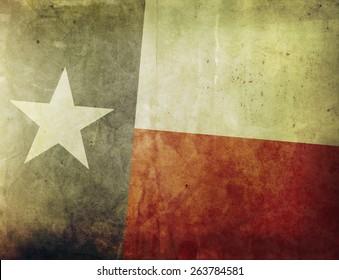 Vintage Flag - Texas