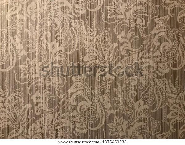 Vintage flower background wallpaper
