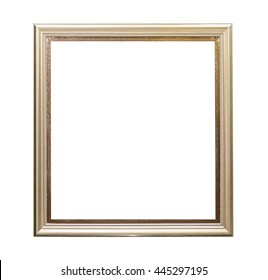 Vintage frame picture isolated for your design.