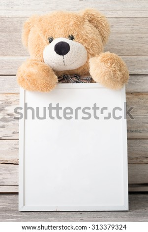 Vintage Frame Teddy Bear Stock Photo (Edit Now) 313379324 - Shutterstock