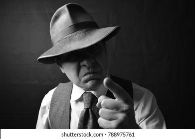 Vintage Gangster Film Noir