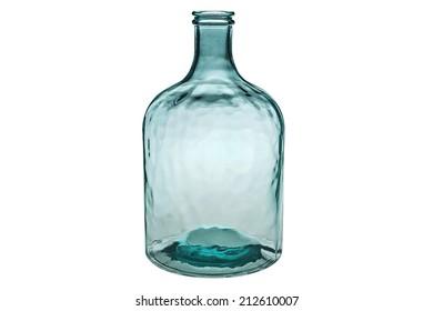 Vintage glass bottle.