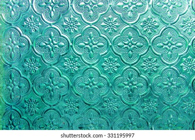 vintage glass Pattern
