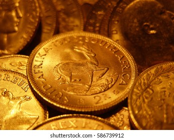 Vintage gold coins- world wide collection