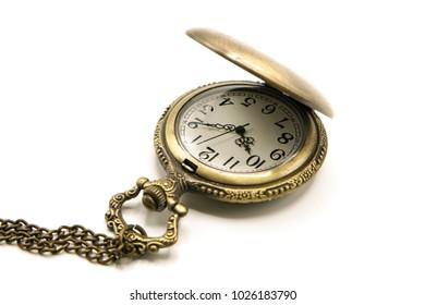 Vintage Golden Locket Watch