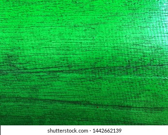 Vintage green wood plank use as background space for creative design