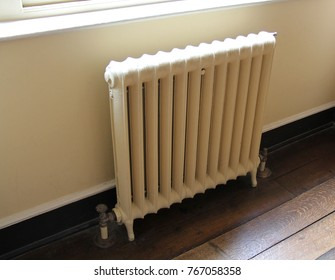A Vintage Heavy Duty Central Heating Water Radiator.