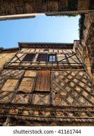 Vintage house in the village  of Saint Emilion in France UNESCO world heritage centre