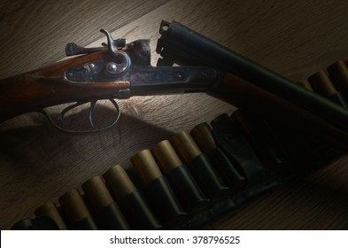 Vintage hunting rifle