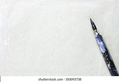 vintage ink pen