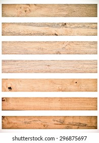 Vintage Isolate Wood plank brown texture background in light color tone.Vintage Style.