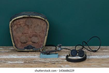 vintage key morse code,telegraph system