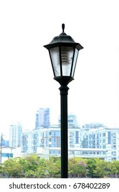 vintage Lamp in downtown