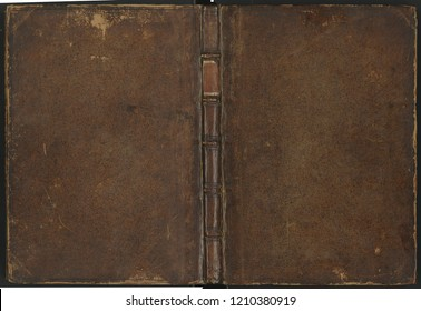 Vintage leather book cover