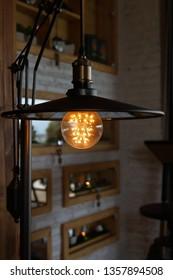 vintage light lamp interior decoration
