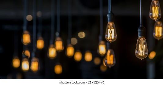 Vintage Lighting Dekor