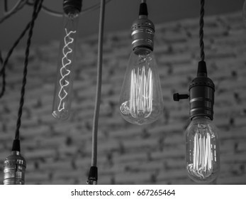 Vintage lighting decoration
