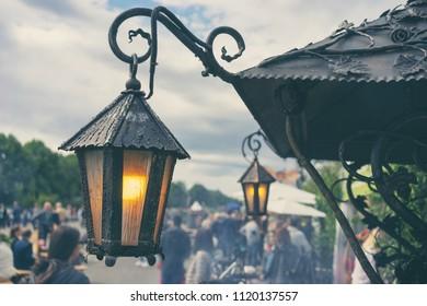 Vintage Lights at the Summer Fair