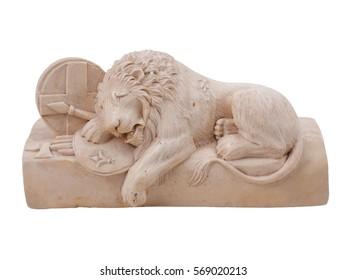 Vintage Lion Table Sculpture Nineteenth Century