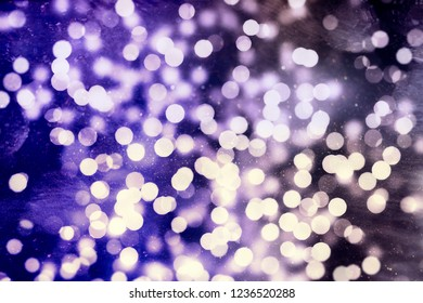 Vintage Magic Background With Color Festive background with natural bokeh and bright golden lights.