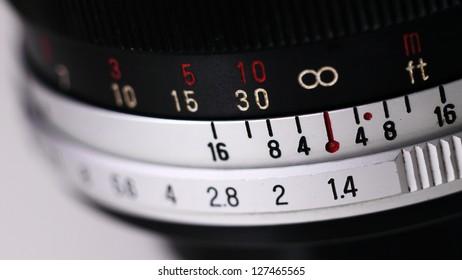Vintage Manual Focus Lens for SLR (Single Lens Reflex) Camera.