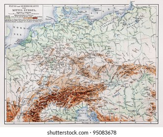 Map Of Germany Mountains.Germany Map Mountains Stock Photos Images Photography Shutterstock