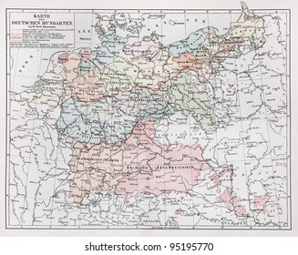Map Of Germany 1900.German Map Images Stock Photos Vectors Shutterstock