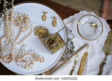 Vintage medieval jewelry