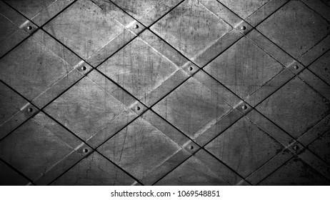 Vintage metal background