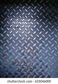 vintage metal floor background