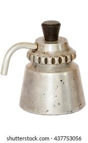 Vintage moka espresso travel coffee maker