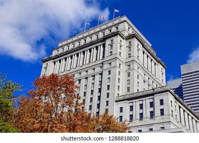 Vintage Montreal Building