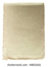 Vintage notepad isolated on white