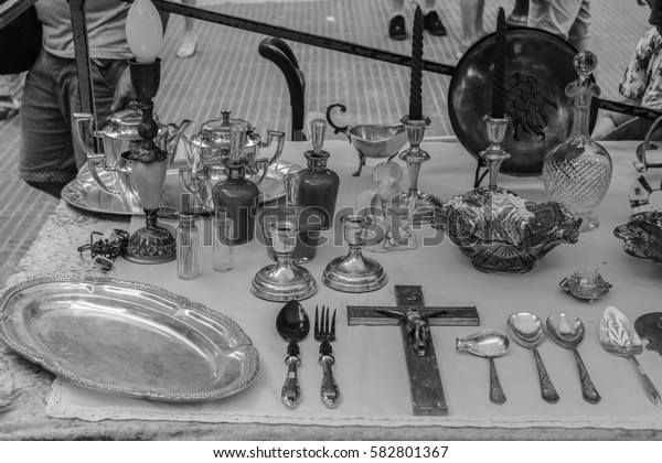 Vintage Objects   in Black and White