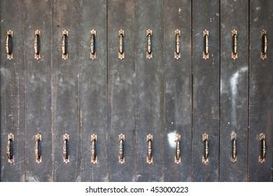 Vintage Old door handle.