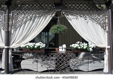 Vintage old fashioned cafe