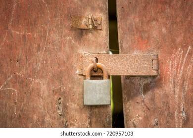 Imágenes, fotos de stock y vectores sobre Old Locks On Doors