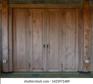 Folding Doors Wood Images Stock Photos Vectors Shutterstock