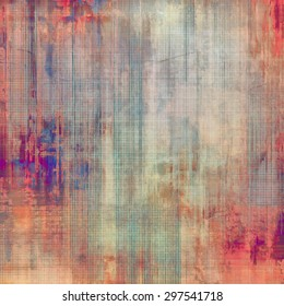 Vintage old texture for background. With different color patterns: brown; gray; pink; purple (violet)
