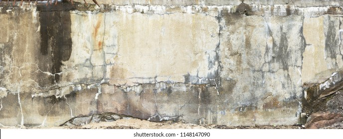 Vintage old wall cement painting cracked wall editing for designer