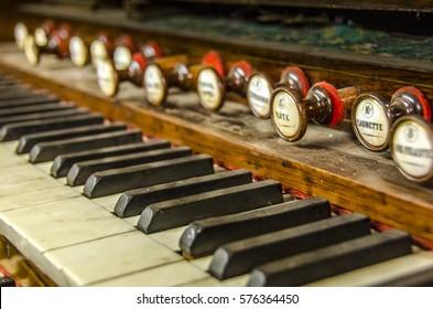 Vintage Organ Piano